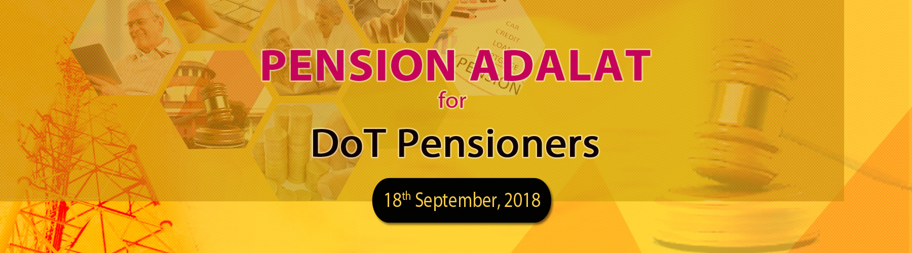 Pension Adalat for DoT Pensioners