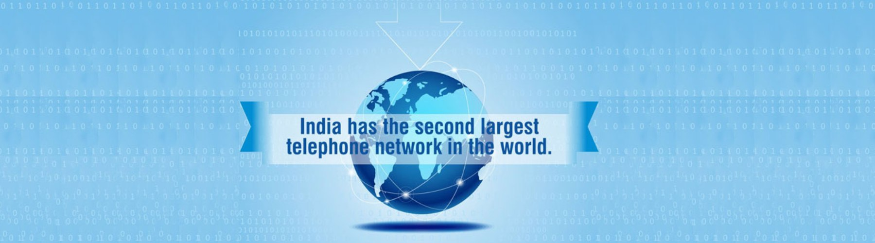 India has Second Largest Telephone Network in India