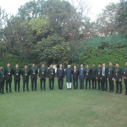Group Photo with Hon'ble Vice President